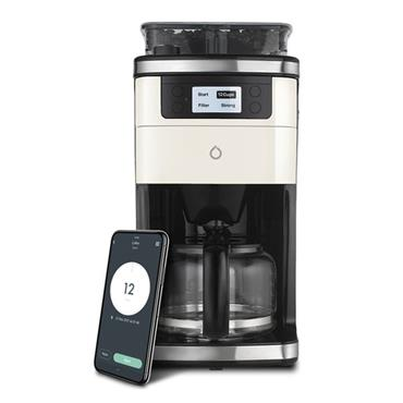 SMARTER 2nd Generation Smart Bean to Cup Coffee Machine Stainless Steel | 88-SMCOF01-UK