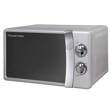 Russell Hobbs 17 Litre Manual Microwave - Silver | RHMM701S-N