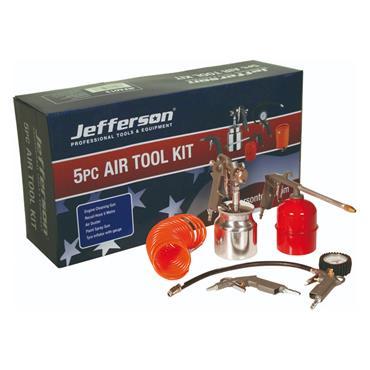 Jefferson 5 Piece Air Kit with Spray Gun  