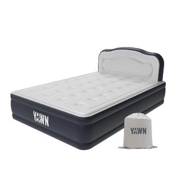 Yawn Air Double Inflatable Mattress Bed - Grey | YAMHD2