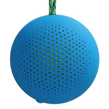 BOOMPODS OUTDOOR PORTABLE SPEAKER BLUE | ROKBLU
