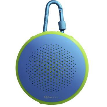 Boompods Fusion Bluetooth portable speaker Water-proof Blue | FUSBLU
