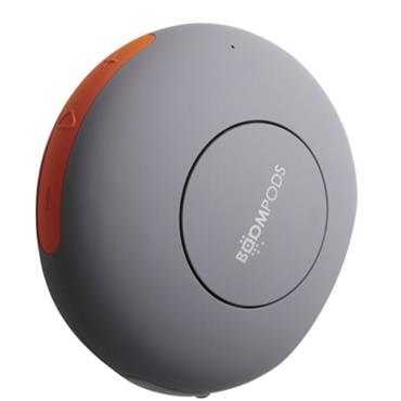 BOOMPODS DOUBLEBLASTER 2 portable bluetooth SPEAKER orange/grey   DB2ORA