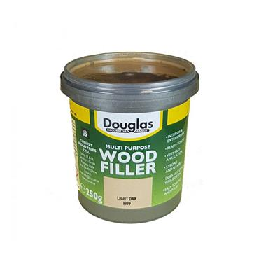 Douglas 250g Multipurpose Wood Filler - Light Oak |