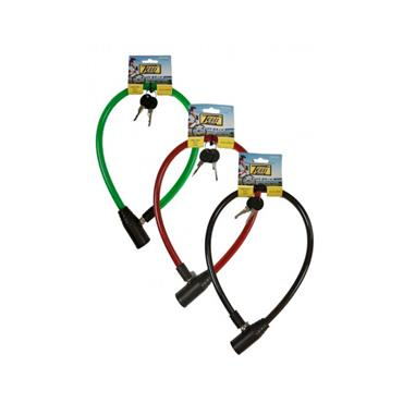 Tessi 650mm x 12mm Cable Bicycle Lock Single | TEW12650