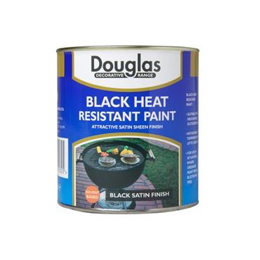 Douglas 250ml Heat Resistant Paint - Black | DPZB0025
