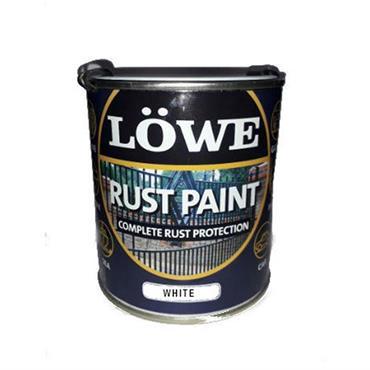 Lowe 500ml Rust and Metal Paint - White | LRW0075