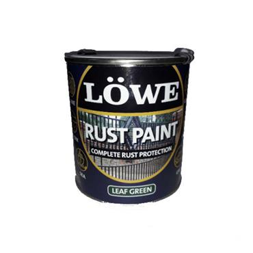 Lowe 1 Litre Rust and Metal Paint - Leaf Green | LRG0150