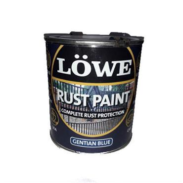 Lowe 500ml Rust and Metal Paint - Gentian Blue | LRB0075