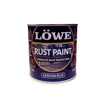 Lowe 2.5 Litre Rust and Metal Paint - Gentian Blue | LRB0300