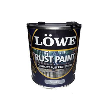 Lowe 1 Litre Rust and Metal Paint - Silver | LRSV0150