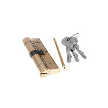 Tessi Snap Safe Door Cyclinder 35 / 45 - Brass | TKD3