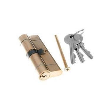 Tessi Snap Safe Door Cyclinder 45 / 35 - Brass | TKD4