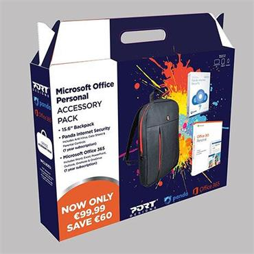 Microsoft Office 365 Accessory Pack & Black Case | ACSSPER365BTS