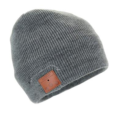 BLUETOOTH BEANIE HAT GREY