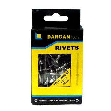 DARGAN 4.9X13 ALUMINIUM POP RIVETS 95PK