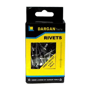 DARGAN 4.9X16 ALUMINIUM POP RIVETS 95PK