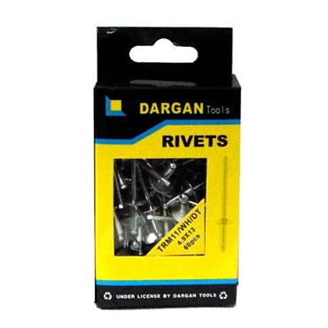 DARGAN 4.9X13 WIDE HEAD POP RIVETS 60PK