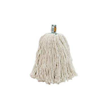 Dosco No. 20 White Mop Head with Metal Socket   12009