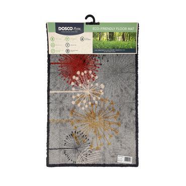 Dosco 75cm x 50cm Doormat - Flowers | 57048