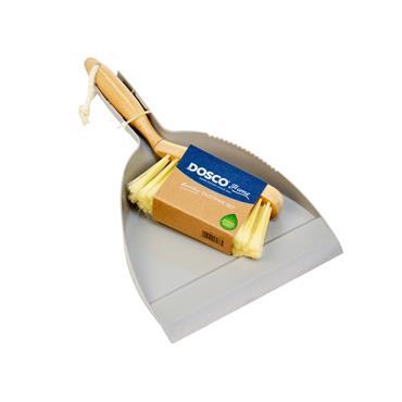 Dosco Bamboo Handle Dustpan and Brush Set   57086