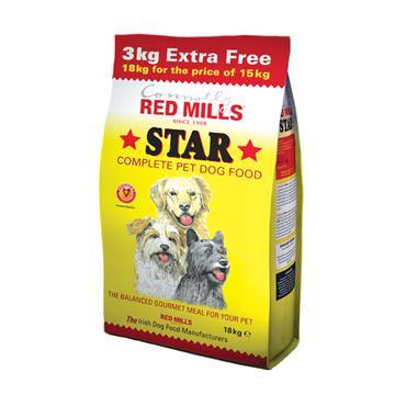 RED MILLS 18KG STAR COMPLETE DOG FOOD
