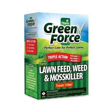 LAWN FEED WEED & MOSSKILLER 3KG BOX
