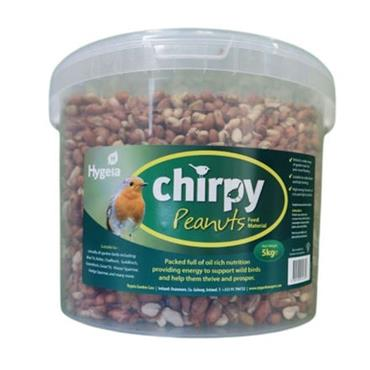 Chirpy 5kg Peanuts Bird Nuts in a Bucket | G21270