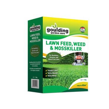 Goulding Lawn Feed Weed & Mosskiller 3kg | G60017