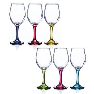 NEWGRANGE 6 PACK VIENNA WINE GLASS SET
