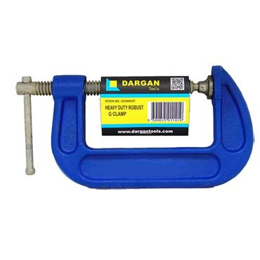 "DARGAN 8"" HEAVY DUTY ROBUST G CLAMP"