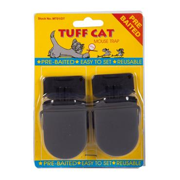 Tuff Cat Pre-Baited Easy Set Mouse Trap 2 Pack | MT01/DT