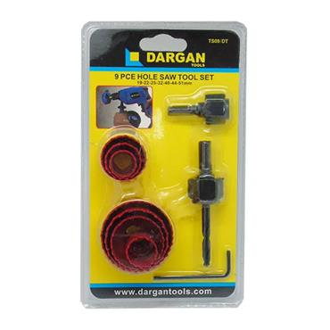 Dargan 9 Piece Holesaw Set | TS09/DT