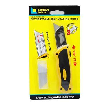 Dargan Super Retractable Knife Self Loading | KR01/DT