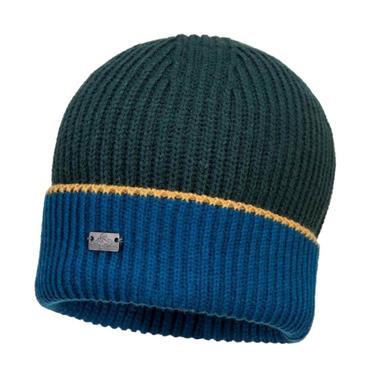 Portwest Glenveagh Beanie Hat - Navy/Green | MP31NAG
