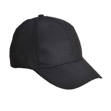 PORTWEST BASEBALL CAPS BLACK