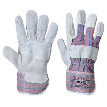 Portwest A210 Canadian Rigger Glove - Grey - X Large | 6002GRR