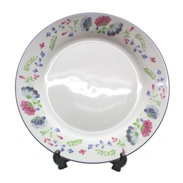 """HARMONY FLORAL PLATE 10.5"""""""
