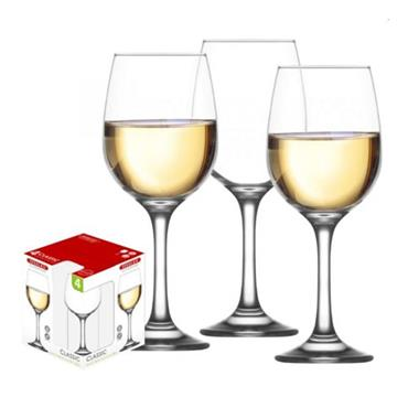 Steelex White Wine Glasses 28cl Set of 4 | GX8028