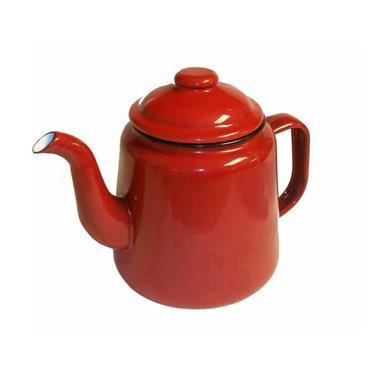 Falcon Enamel Teapot Red 14cm | EN0028A