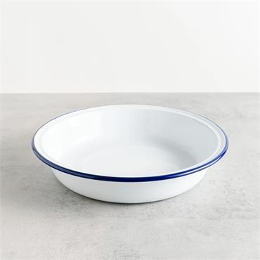 Falcon Round Enamel Pie Plate 24cm | EN1024X