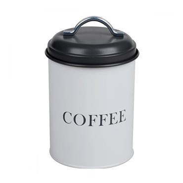 Coffee Caddy - White with Grey Lid | TE1002