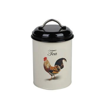 Tea Caddy - Cockerel | TE2001