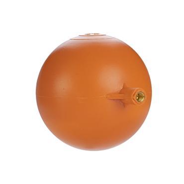 "Easi Plumb 4 1/2"" Round Plastic Ball Float   EP412PBF"