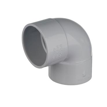 Easi Plumb 32mm Knuckle Waste Fitting Elbow Pack of 2 | EP32KW