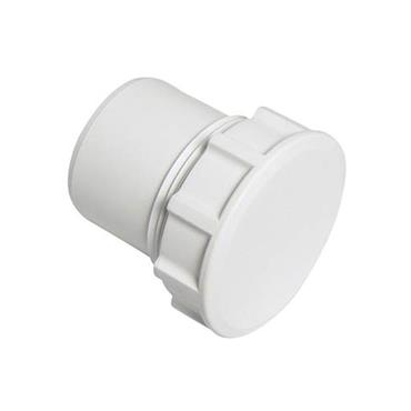 Easi Plumb 40mm Access Plug for Waste Fittings   EP40PW