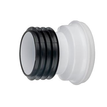 "Easi Plumb 4"" Straight Pan Connector | EPSPC"