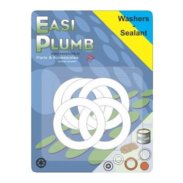 """3/4"""" PVC WASHERS PACK OF 5"""