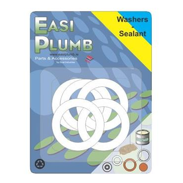 1'' PVC WASHERS PACK OF 5