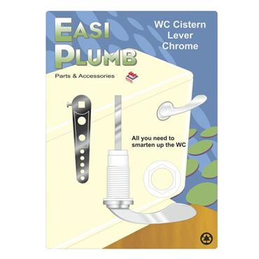 Easi Plumb Chrome Plated Cistern Toilet Handle | EPCPCL2